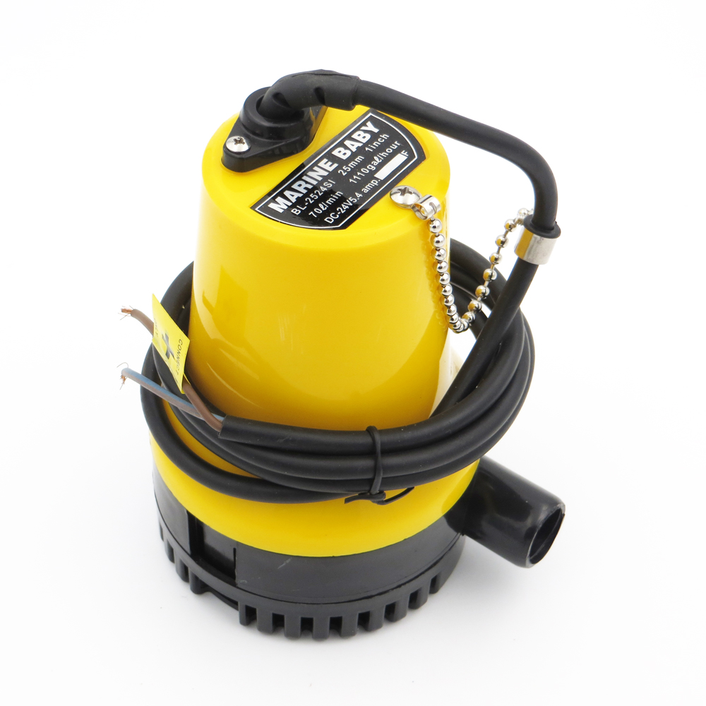 small DC Submersible water pump 12V 24V 50W BL2512 Bilge Pump 3m3 h Fountain garden irrigation