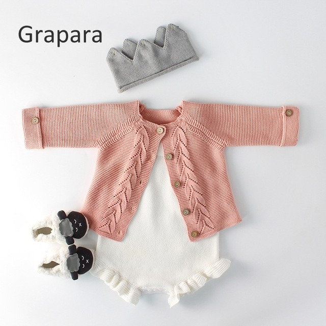 6505ad968 Baby Boys Girls Cardigans Sweater Autumn Thick Warm Baby Sweater ...