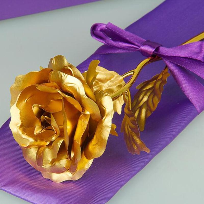 24 К золотая роза бесплатная доставка