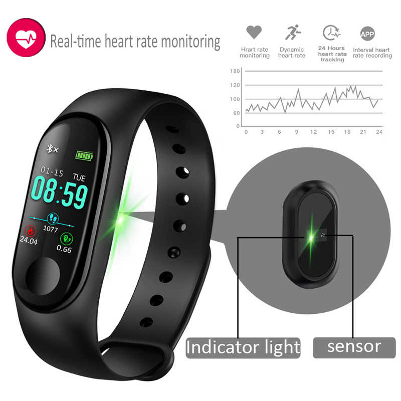 RGLM M3 femmes montre intelligente hommes fréquence cardiaque pression artérielle oxygène sommeil moniteur podomètre Fitness Sport montres pour hommes Android IOS