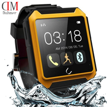 Neue IP68 Wasserdicht Kompass Bluetooth Uhr Uterra Smart Uhr Android Smartwatch UT0 für iPhone Samsung Sony HTC Smartphones