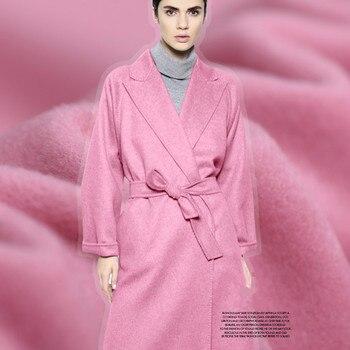 High quality wool cashmere fabrics of autumn winter coat dust coat fashion fabrics autumn and winter coat wool cloth