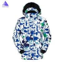 Ski Jacket Men Winter New Windproof Waterproof Snow Wear Thicken Warm Jackets Outdoor Sports Skiing Camping Snowboard Clothing