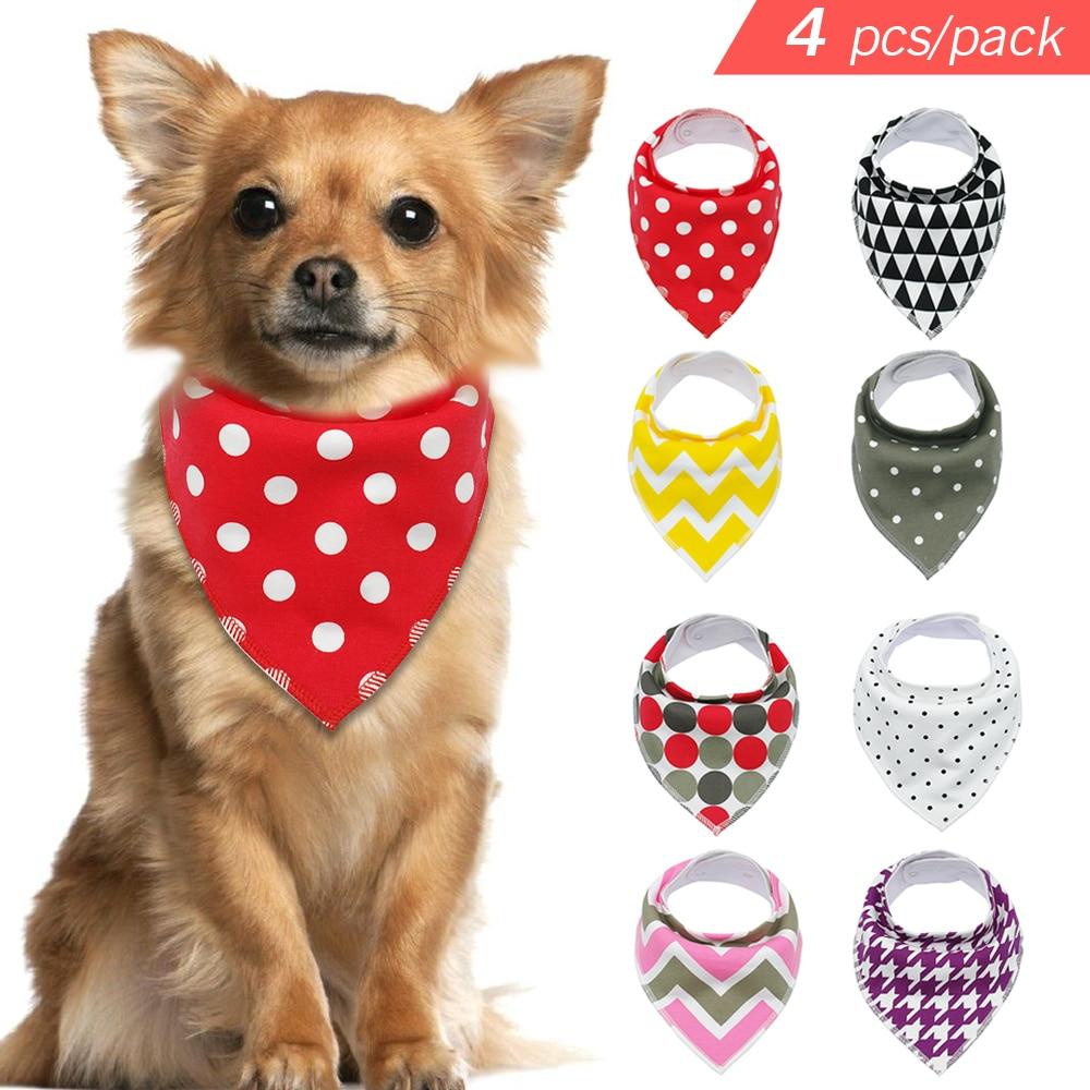 NEW--DOG BANDANA--Groomer /& Pet Store Supply--Wholesale Lot of 6 pcs--Med Dog Sz