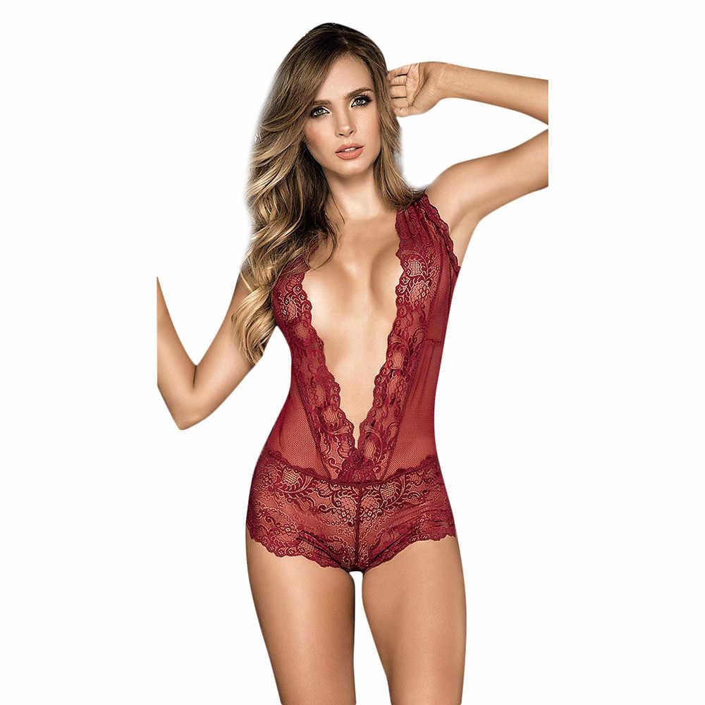 Wanita Pakaian Dalam Wanita Fashion Seksi Menggoda Yang Renda Tindik Hollow Keluar Suit Erotis Kostum Pakaian Dalam Wanita Pakaian Dalam Seksi Panas