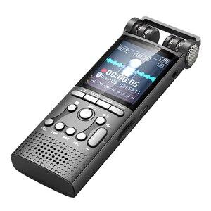 Image 5 - Профессиональный цифровой аудио диктофон с голосовой активацией, 16 ГБ, USB ручка, 100 часов записи без остановки, PCM 1536 кбит/с, поддержка TF карты