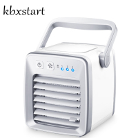 Kbxstart Evaporative Water Air Cooler Personal USB Desk Fan 12V Car Air Conditioner Mini Climatiseur Portable Maison For Room