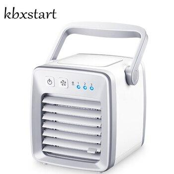 Kbxstart Evaporative Water Air Cooler Personal USB Desk Fan 12V Car Conditioner Mini Climatiseur Portable Maison For Room