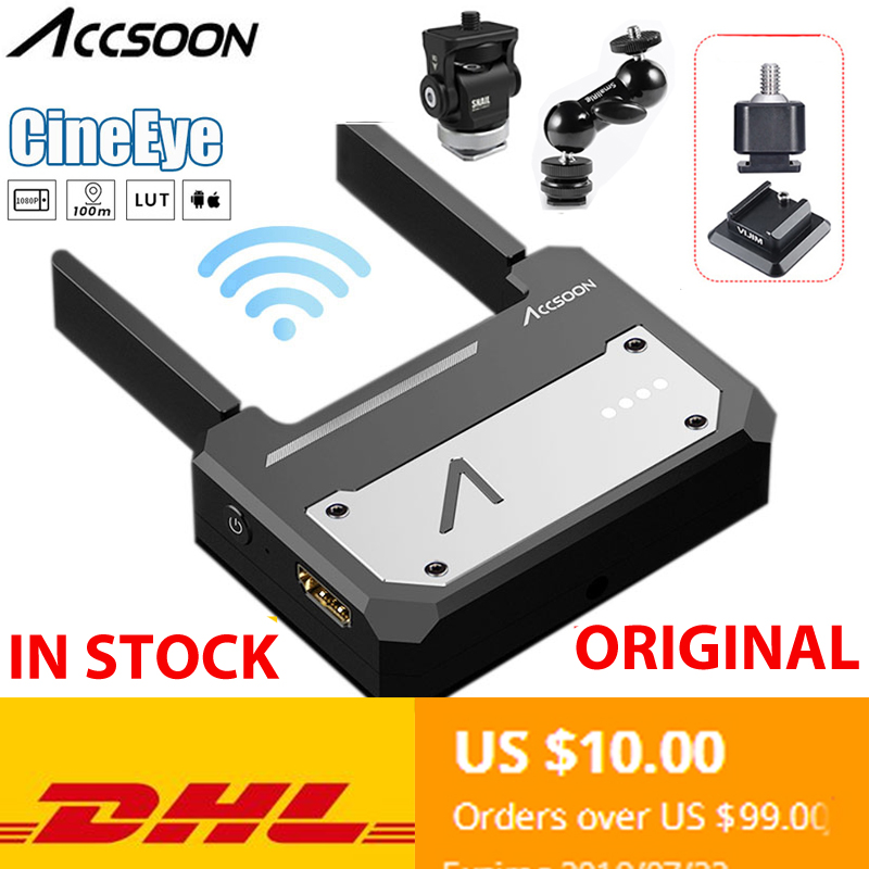 Original Accsoon CineEye HDMI 5G Transmission FullHD via Wifi to up to 4 Smart Devices For