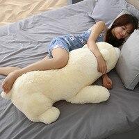 60cm Polar Bear Soft Plush Toy Stuffed Animals Cute Nanoparticle Doll Pillow Cushion Air Cleaner Decoration Kids Girl Gift