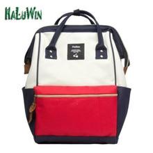 Ndwfashion Девушки Леди для ноутбуков рюкзаки праздники школьников дизайн женщин большой packbags компьютера большой бренд японский
