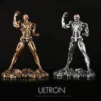 Pandadomik Unique Resin Large Ultron Toy Figure Movie Model Iron Man Toy Avengers Figurine Decor Gift Toys for Boys Kids Hobbies