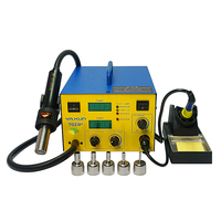 5PCS/LOT bga soldering rework station YAXUN YX 702B+ smd with 5 nozzles free tax to RU