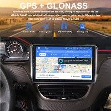 Dasaita-Radio con GPS para coche, reproductor Multimedia estéreo con Android 10, GPS para coche, 10,2 pulgadas, 4GB + 32GB, para Peugeot 2008, 208 din, DSP, ocho núcleos
