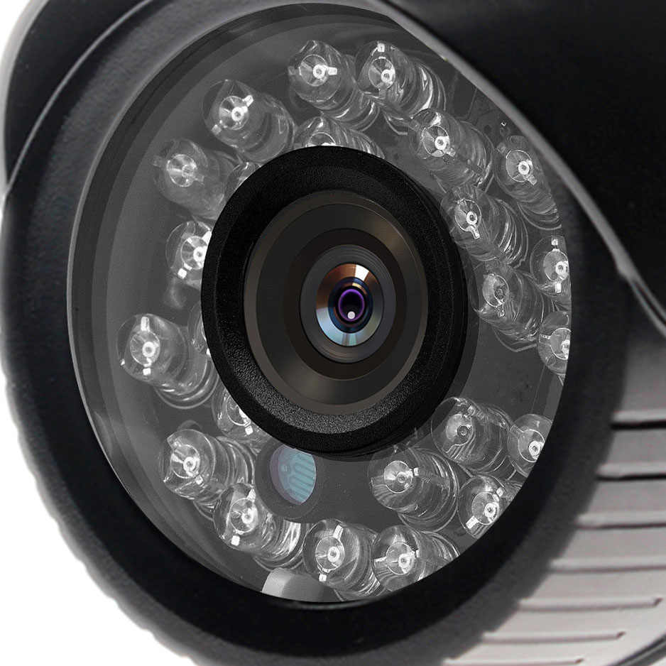 2MP IP kamera dönemi Güvenlik Açık Mermi 1080P HD Kamera ONVIF H.265/H.264 Gözetim Ses Kameraları Gece Görüş p2P IP kamera