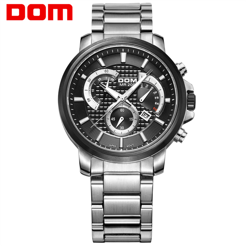 DOM Army Luxury Watch Men font b SportS b font Watches for Men font b Military