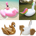 Carros alegóricos piscina gigante anel de natação 190 cm unicorn flamingos infláveis Brinquedos Piscina de Água inflável piscina flutuante para o verão DHL Livre