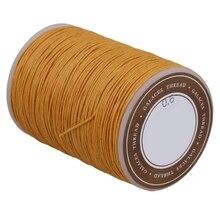 Швейные аксессуары ручной работы рами вощеный шнур оранжевый 0,6 мм Диаметр