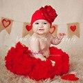 red newborn pettiskirt baby kids chiffon party mini skirt tutu cothes for children princess ball gown tutu pettiskirt