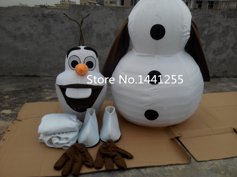 New Olaf Mascot Costume olaf Costume Free Shipping Olaf - Կարնավալային հագուստները