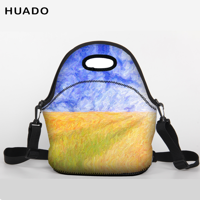 Leisure Women Portable Lunch Bag Insulated Cooler Bags Thermal Food Picnic Lunch Bags Kids Lunch Box Bag Tote