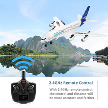Wltoys Xk A120 Airbus A380 Model Plane 3ch Epp 2.4g Remote Control Airplane Fixed-wing Rtf Toy ZLRC