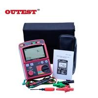 GM3123 Professional 2500V digital megohm meter Ohm Meter high tension megger AC Voltage Insulation resistance tester