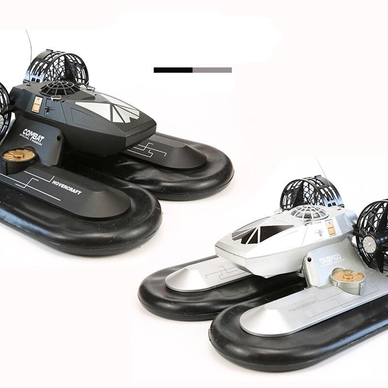 RC bateau Hovership amphibie Transport Dock 6CH télécommande Hovercraft bateau haute Simulation électronique passe-temps jouets pour enfants