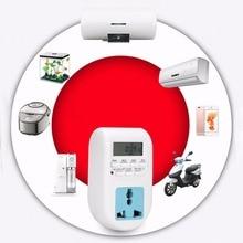 UE Plug Caliente Energy Saving Timer Programable Temporizador Electrónico Socket Temporizador Digital de Electrodomésticos Para El Hogar Dispositivos