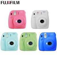 Камера Fujifilm Instax Mini 9 Instant fuji, пленка для фото, всплывающие линзы, авто измеряющая мини-камера с ремешком, 5 видов цветов, милый подарок