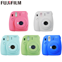 Fujifilm Instax Mini 9 Instant fuji Camera Film Photo Camera Pop up Lens Auto Metering Mini Camera with Strap 5 Colors Cute Gift