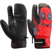7bad49621b96 Hotsale Man Woman Kids Ski Gloves Mittens Winter Snow Warm Waterproof  Snowboard Gloves Skis