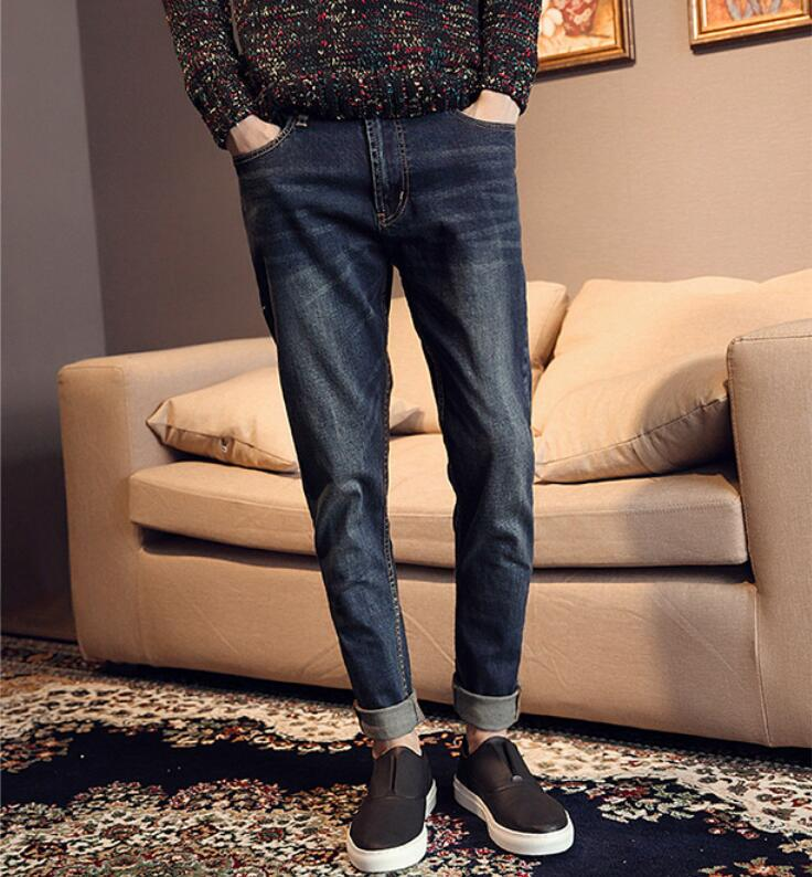 Free shipping 2016 summer style men jeans brand high quality famous designer denim jeans Harem pants