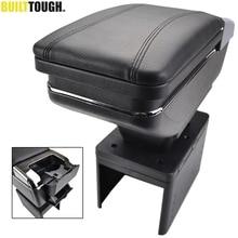 Универсальный подлокотник автомобиля подлокотник центр консоль вращающийся ящик для хранения верхней части