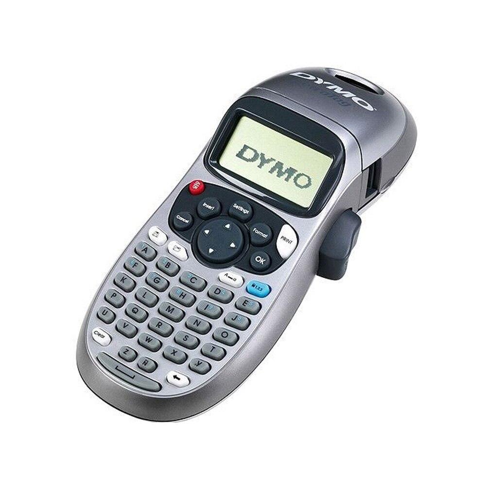Compatible pour Dymo LT-100H imprimante d'étiquettes portable pour Dymo Letratag recharges d'étiquettes LT 12267/91200/91201/91202/91203/91204/91205/