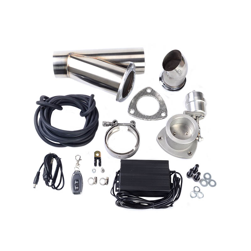 2.5 inch Vacuum exhaust cutout Pump With Exhaust Control Valve Set CLOSE STYLE and Wireless Remote Controller electric value 1 inch iron water valve bottom basket with bottom valve head shower valve underwater pump intake valve pump accessories
