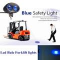 Empilhadeira Luz de Segurança 12 V 10 W LED off road azul Aviso de Segurança Luzes Led Spot Light Para O caminhão do carro usado empilhadeira atv UTV 4x4