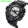 New Fashion Men Women Sports Lovers Digital Analog Watches Male Female Anti-seismic Dual Time Waterproof Boys Girls Gift OP001