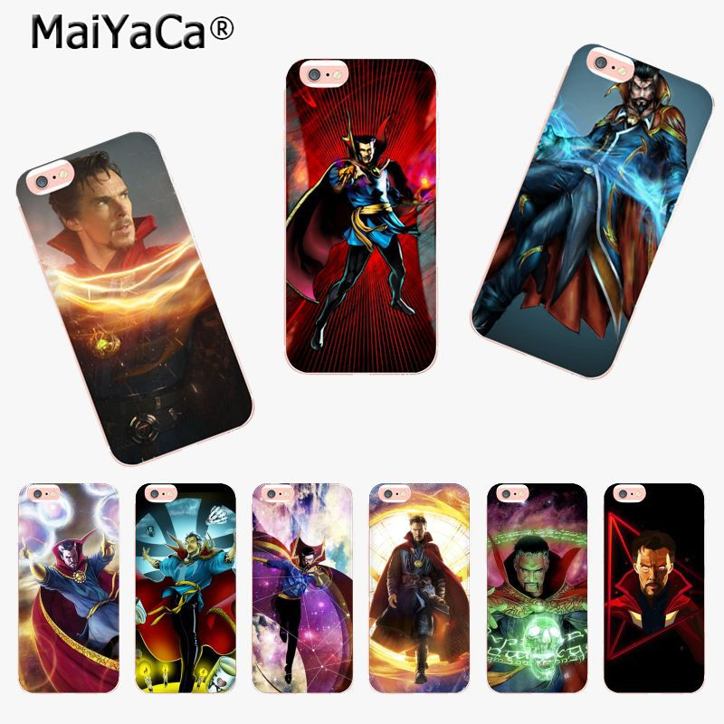 Shock-Resistant And Antimagnetic Humor Maiyaca Marvel Doctor Strange New Arrival Fashion Phone Case Cover For Apple Iphone 8 7 6 6s Plus X 5 5s Se Xs Xr Xs Max Cover Waterproof Cellphones & Telecommunications