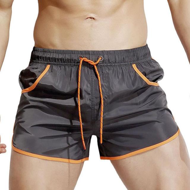 KWAN.Z board shorts men homens three minutes beach shorts swimwear stroj kapielowy short masculino praia swimsuit sea shorts