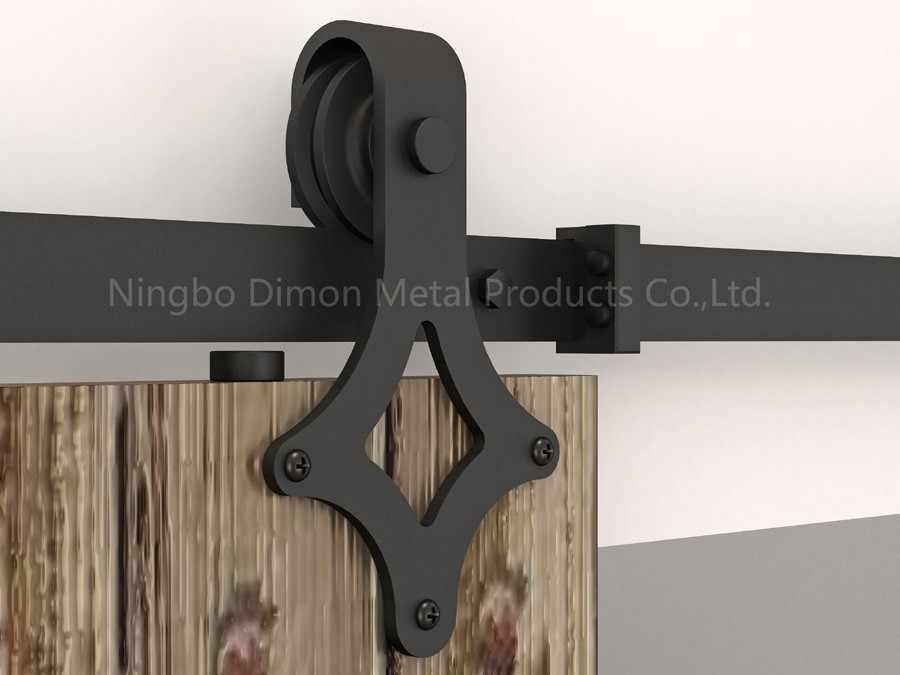 Dimon индивидуальные раздвижные двери оборудование с комплекты амортизаторов Америка Стиль Раздвижные двери оборудование DM-SDU 7205 с мягким закрытием