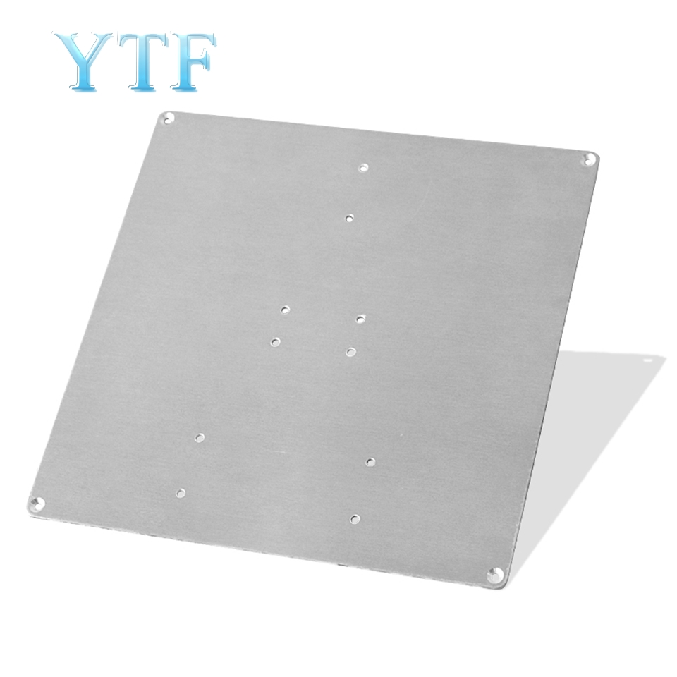 3D Printer Parts Hot Bed Aluminum Plate Heating Platform Bottom Plate Heating Bed Support Aluminum Plate 220*200*2MM
