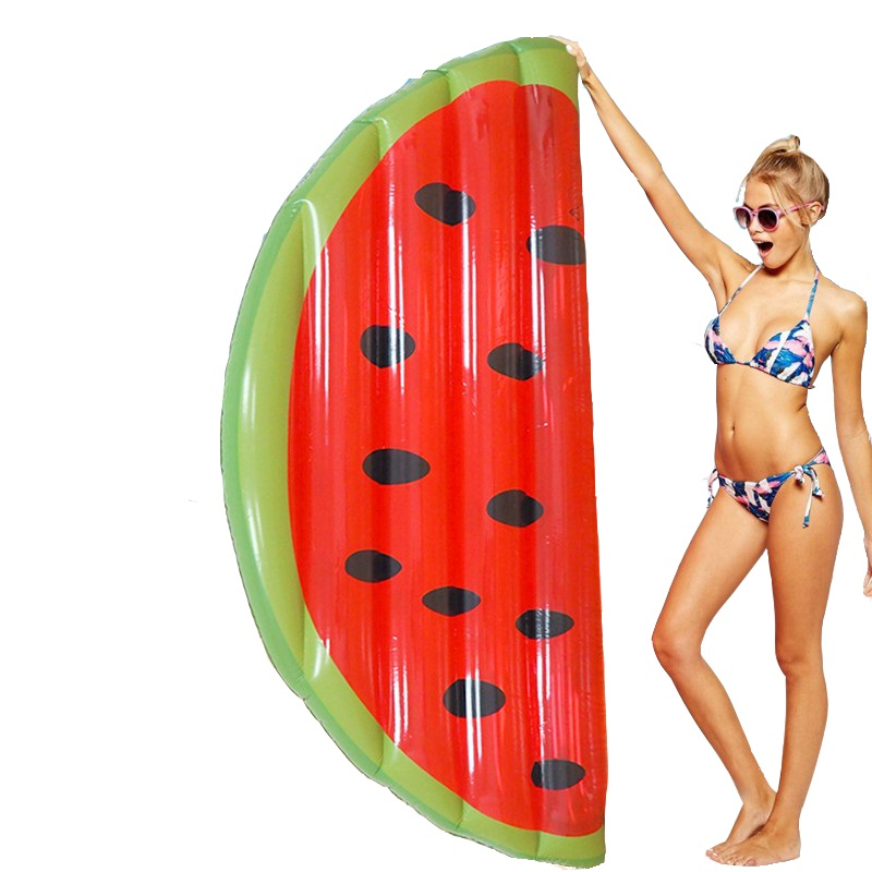 160x80 cm/180x90 cm géant gonflable pastèque tranche piscine flotte lit d'eau jeu jouet Air matelas Kickboard Boia Piscina, HA037