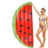 160x80cm/180x90cm Giant Inflatable Watermelon Slice Pool Floats Water Bed Game Toy Air Mattress Kickboard Boia Piscina,HA037