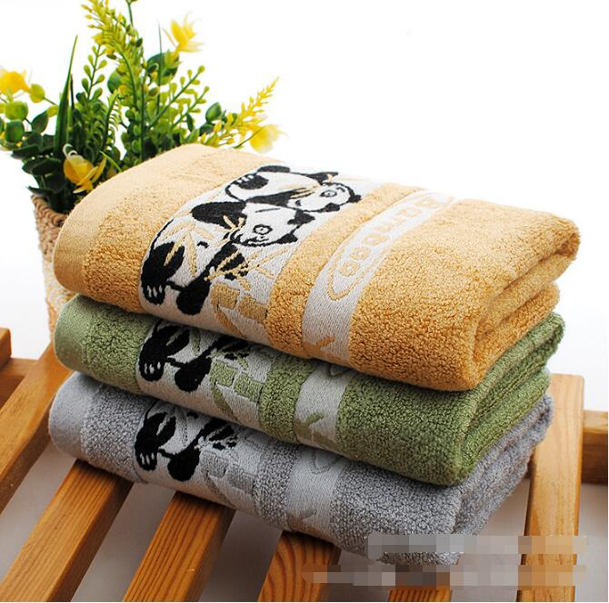 5pcs Panda Bath Towel Children Cotton Serviette De Bain Summer Beach Towel Bath Toallas Animal Drap