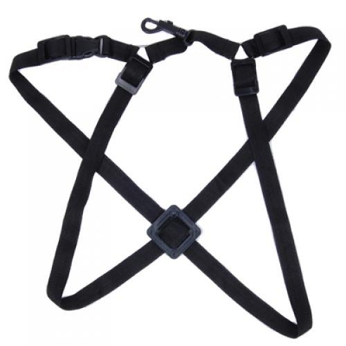 VSEN 2X Adjustable Universal Sax Saxophone Harness Strap Black vsen 2x adjustable universal sax saxophone harness strap black in