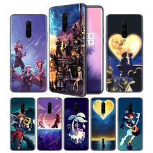 Anime Kingdom Hearts Soft Black Silicone Case Cover for OnePlus 6 6T 7 Pro 5G Ultra-thin TPU Phone Back Protective