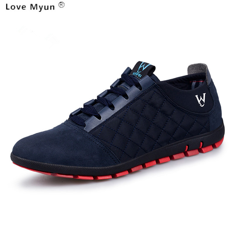 купить 2017 new style Men Shoe Canvas Spring/Summer/Autumn New Mens Fashion Mesh Casual Breathable Shoes Man Lace-up Sapatos Zapatillas онлайн