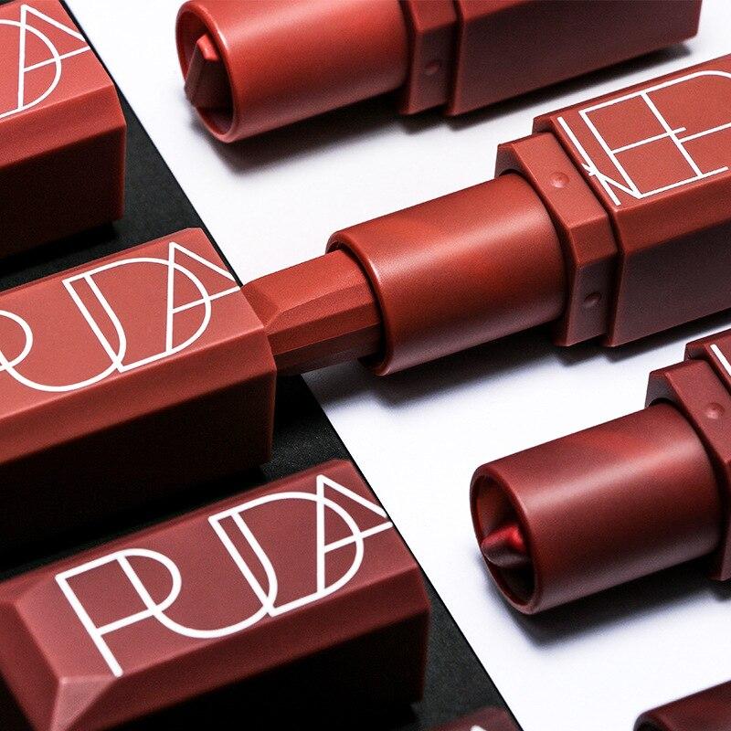 60 stks/set Pudaier Matte Vloeibare Lipstick 5 Kleuren Make Waterdicht Fluwelen Naakt metallic Tint Zachte Lipgloss Lippen Cosmetica - 3