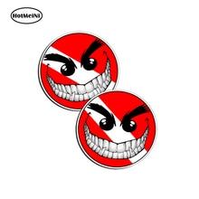 HotMeiNi Evil Smiley Happy Face Scuba Dive Sticker Vinyl Decal  bumper  window  Car Sticker  Car Accessories 13cm x 15cm цена и фото